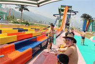 Swimming Pool Barreled Sled Slide Safety Water Park Equipment SGS Audited