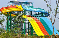 Multi Lane Variable speed Race air Slide, Water Park peralatan untuk anak-anak