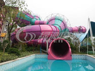 Adults Outdoor Colorfull Fiberglass Water Slides Equipment for Water Sport Games