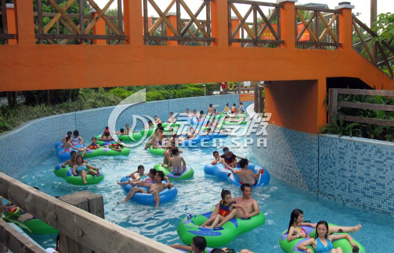Customized Giant Water Park Lazy River for Children and Adult Spray Park Equipment