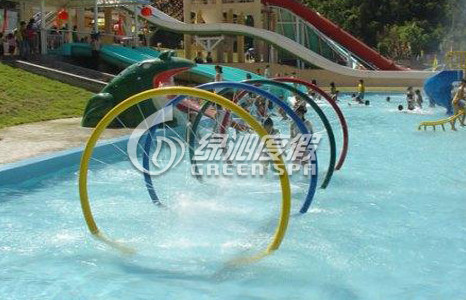 Arch Doors Water Spray Colorful Aqua Park Equipment for water amusement park or water pool